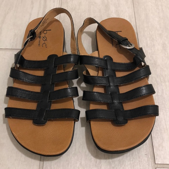3d3a83f39dbd Born Shoes - Boc cage sandal black